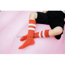 Classic Stripes Designs Girl Cotton Stocking Girl School Dress Stocking