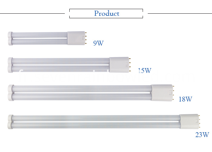 Aluminum heat sink led 2G11