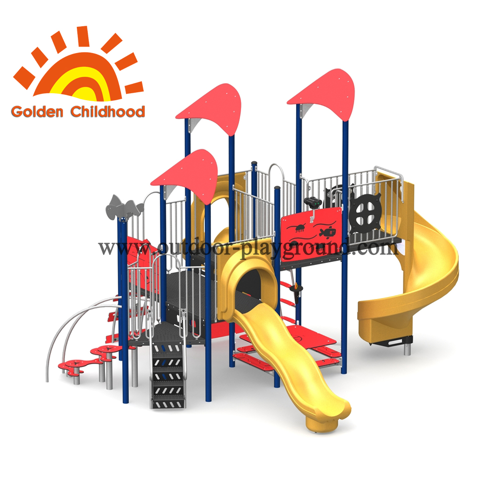 Multiplay Slide Combination For Children