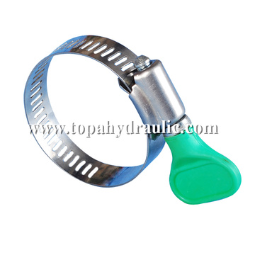 Heavy duty adjustable tube clamp tool for hoses
