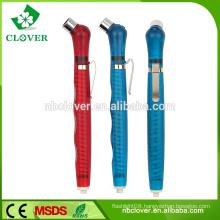 Plastic body pencil shape wireless tire pressure gauge for car