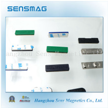 Manufacture Customized NdFeB Magnet Magnetic Name Badge with Different Colors