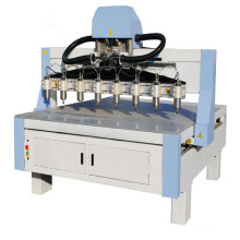 China Factory High Precision Multi Heads CNC Wood Router