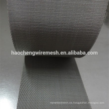 Uso de la malla de alambre del acero inoxidable de 400 mallas 904L en el equipo del ácido nítrico del ácido sulfúrico