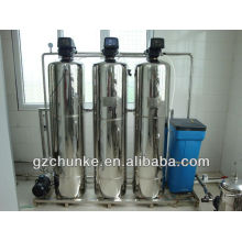 Precio auto del filtro del suavizador de agua de la resina del acero inoxidable de Hotsale