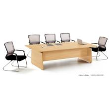 Table de conférence moderne à 8 personnes avec des jambes en métal (FOH-CT-E2412)