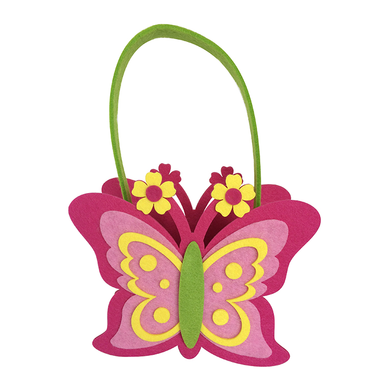 Easter Butterfly Shape Gift Bag