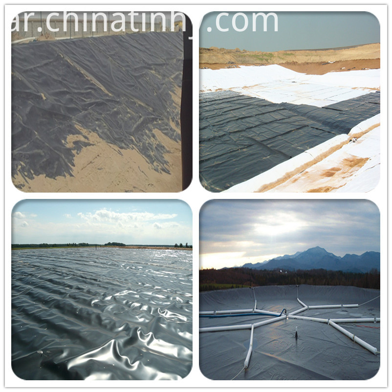 HDPE Geomembrane Liners with UV