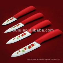 OL039 Knife Set With TPR Handle