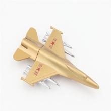 Новый дизайн подарочный металлический самолет U диск