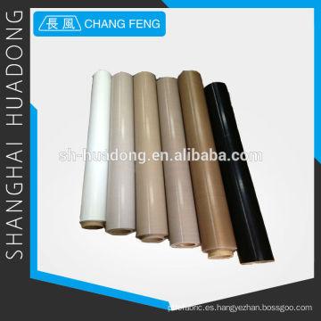 Fibra PTFE antiestático tejido de vidrio