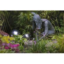 парк тема жизни Размер металлическая статуя обнаженная женщина бронзовая скульптура
