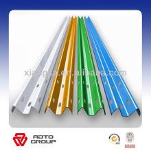 galvanisé ou PVC peinture garde-corps de l'autoroute