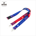 Any Color Full Color Heat Transfer Printed Lanyard with Custom Accessories