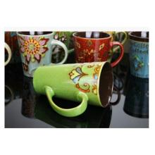 Tasse en céramique promotionnelle de 14 onces