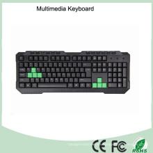 Califique un teclado de computadora atado con alambre del juego del precio bajo de la alta calidad (KB-1688M-G)