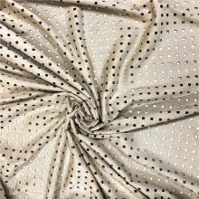 Trous à perforer en daim et polyester spandex