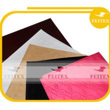 Tissu matériel africain de coton de Riche Bazin Riche de commerce d'assurance Feitex pour la robe de partie