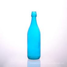 FDA Safe Blue Juice Flasche