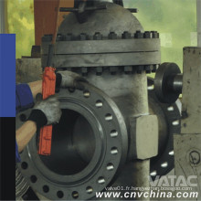 Moteur / Electirc / Pneumatic / Gas / Hydraulic / Liquid Slab Through Conduit Gate Valve