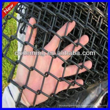 Pó revestido Chain Link Fence para quadras de esportes / quadra de tênis