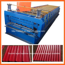 Dx Double-Layer Color Steel Sheet Roof Panel Roll Forming Machine