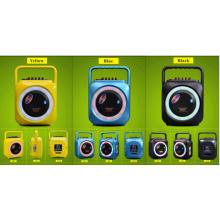 6,5 pulgadas de color amarillo colorido Bluetooth altavoz con micrófono para escenario F105