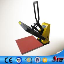 Sublimação térmica imprensa máquina Manual quente, máquina de carimbo para couro