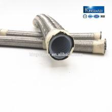 Teflon high pressure hose pipe hydraulic pipe hydraulic hose crimping machine