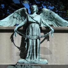 Jarda decoração metal jardim escultura anjo estátuas