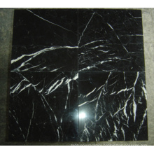 Chinese Black and White Marble Tile Nero Marquina