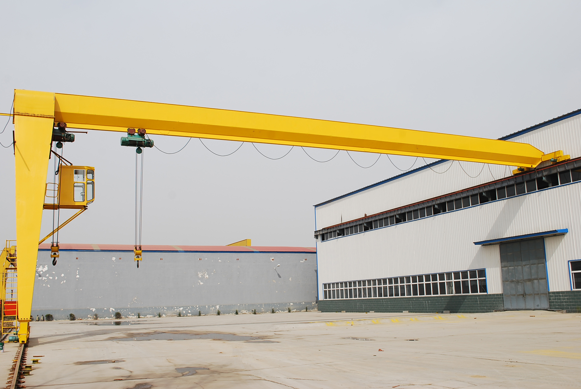 20T Single Girder Mounted Gantry Crane
