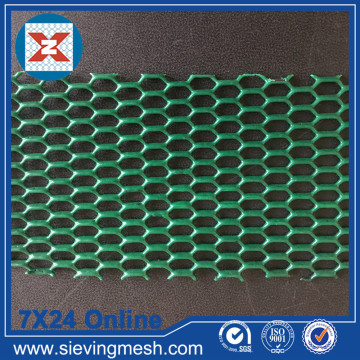 Pvc Coated Hexagonal Expanded Metal Mesh