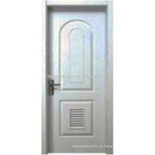 El diseño moderno arqueó el panel superior y la puerta inferior de la casa del diseño del obturador