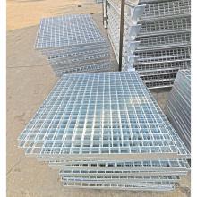 Решетка из оцинкованной стали для крышки люка, ступени лестницы, решетки слива в полу
