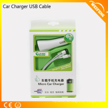 Tres en un cable del cargador del coche del USB / cargadores universales WF-132 del coche