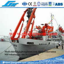 25t 30t Hydraulic Science Research Ship a Frame Crane