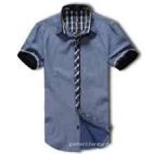 Fashion Style 100%Cotton Men′s Slim Fit Dress Shirt