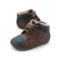 Wholesles Hard Rubber Sole Leather Baby Shoes Shoes