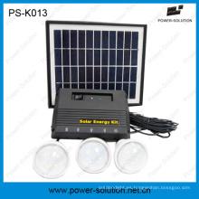 Aplicación doméstica del sistema de iluminación Mini Solar Power para la 120 ° Feria de Cantón