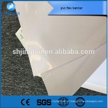Cartaz encerado 340g solvente de impressão digital pvc flex bandeira para fazer compras