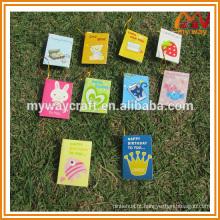 Produtos mundiais de melhor venda de diferentes tipos de cartão de saudação, cartão de casamento