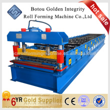 Trapezoidal roofing sheet roll forming machine, steel plate forming machine