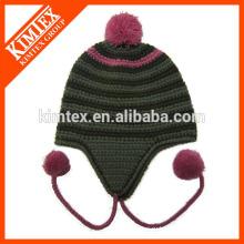 Китайская модная теплая симпатичная акриловая детская шапка