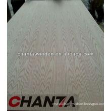 1220x2440x17mm double red oak veneer face fancy MDF board