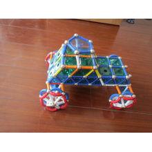 Pädagogische Kid′s magnetische Contruction Spielzeug (UNI-Spielzeug-001)