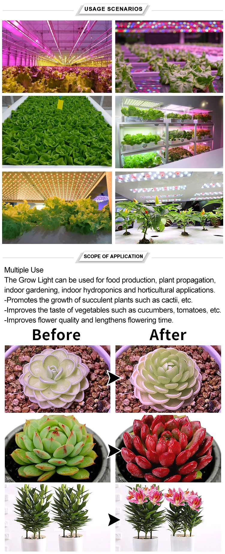 Full Spectrum Led Grow Light Bar