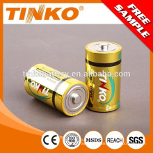 dry battery LR20 size D used in toys,radio