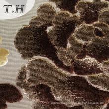100% Polyester Gestrick Schnitt Velvet Fabric