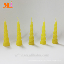 Erste Klasse besitzen Form Zitronengelb Einhorn Kerze für Kuchen Großhandel